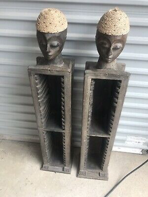 Two Balinese cds racks. Balinese Wood. Very Good Condition.