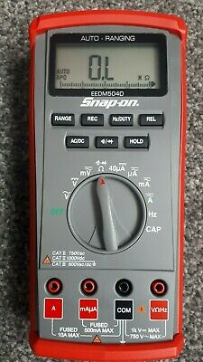 New Snap on Auto-ranging Digital Multimeter EEDM504D