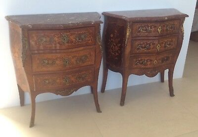 French Commode Louis XV revival Stamped George Guerin, Paris.C.1890