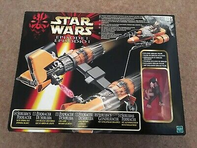 Star Wars Episode 1 Sebulba's Podracer Vehicle With Figure Hasbro