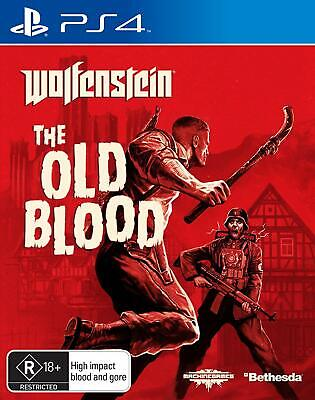 Bethesda Wolfenstein The Old Blood PlayStation 4 Playing Action Video Games