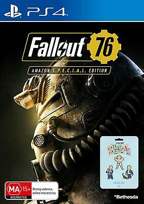Fallout 76: Edition (Exclusive to Amazon AU) (PlayStation 4) Bethesda Game New