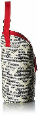 Skip Hop Grab-and-Go Insulated Double Bottle Bag, Hearts