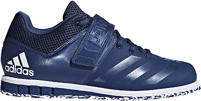 MENS ADIDAS POWERLIFT 3.1 Blue Weightlifting Athletic Sport Shoes CQ1772 Size 8