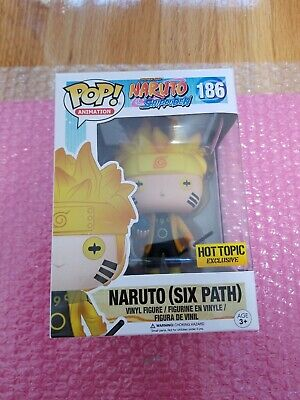 Funko POP! Animation Naruto Six Path Hot Topic Exclusive GITD Glow!!