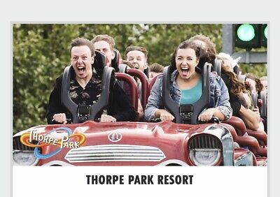 2x Tickets to Thorpe Park Resort , Saturday 29th June 2019