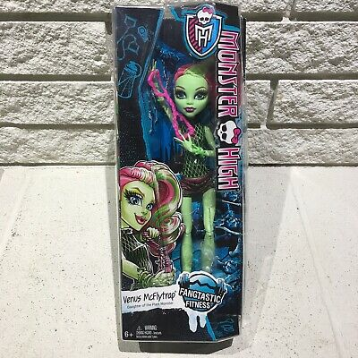 Monster High 2015 VENUS MCFLYTRAP Fangtastic Fitness Doll New In Box Mattel
