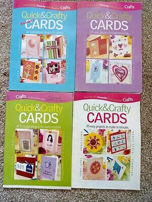Quick & Crafty Craft Magazines X 4
