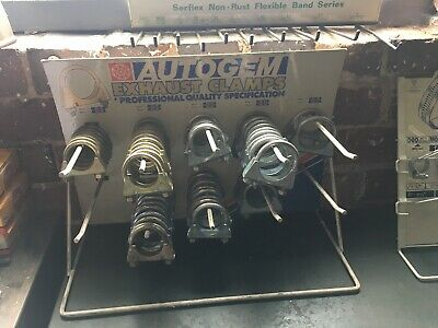 Autogem Exhaust Clamp Rack Garage Display Automobilia  - Rack Only