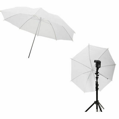 2pcs 33in 83cm Flash Translucent White Soft Umbrella Photo Studio Accessories…