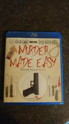 Murder Made EASY BLURAY-  2019 release - Clue meets American Psycho - BRAND NEW!