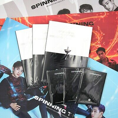 [GOT7]Album-SPINNING TOP:BETWEEN SECURITY & INSECURITY/3 Albums Set/Preorder