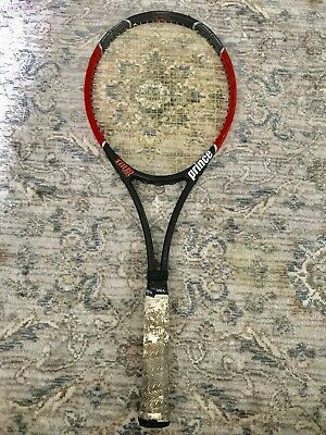"Prince Tour Series Diablo Grip 4"" Mid Midsize 93 head Tennis Racquet Graphite"