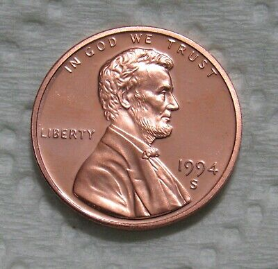 1994-S 1C Lincoln Memorial Cent - Proof
