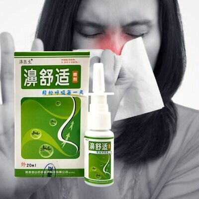 Nasal Sprays Chronic Rhinitis Sinusitis Spray Chinese Traditional Medical Her…
