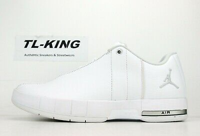 8d557f651bca0 JORDAN TE TEAM Elite 2 Low White Silver Shoes Leather AO1696-100 ...