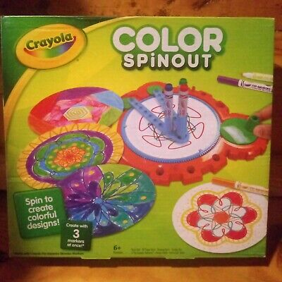 NEW CRAYOLA COLOR Spin Out Game Top Selling Games Art/Crafts