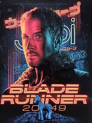 Blade Runner 2049 (Tracie Ching) SOLD-OUT Black Foil Variant Print #40/100 Mondo