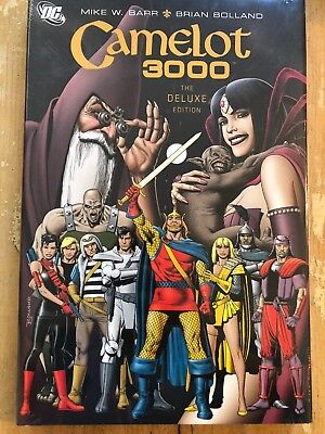 CAMELOT 3000, DELUXE EDITION By Mike Barr - Hardcover ** NEW**
