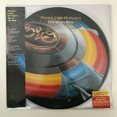 Electric Light Orchestra (ELO) - Out Of The Blue 2x Picture Disc Vinyl NEW
