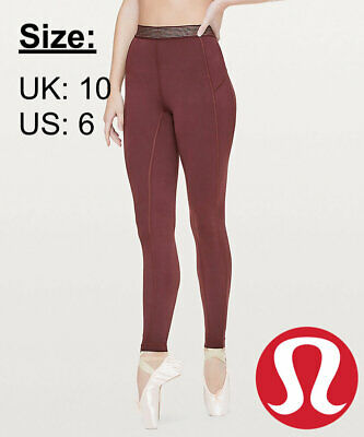 a36ffd1a6 Lululemon Women s Principal Dancer Golden Lining Tight 28