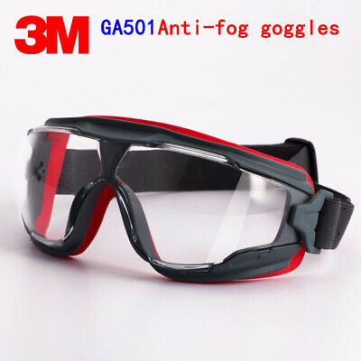 3M GA501 goggles Genuine security 3M protective goggles Anti-fog Anti-shock R…