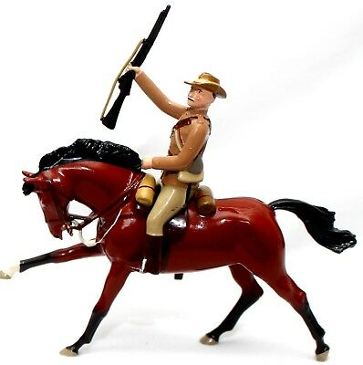 Toy Soldiers Imperial New Zealand   World War One Cavalry Rifleman Britains Size