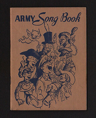 1941 ARMY SONG Book WWII - $3 99 | PicClick