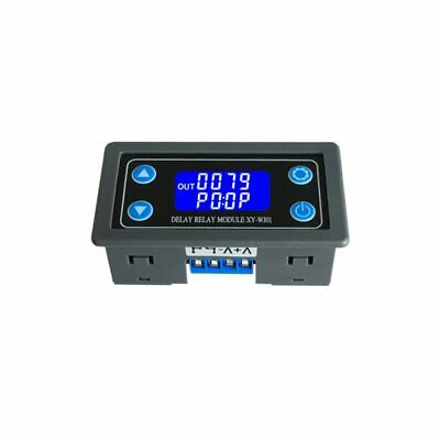 DC12V LED Digital Retardo Temporal Módulo Repetidor Programable Temporizador