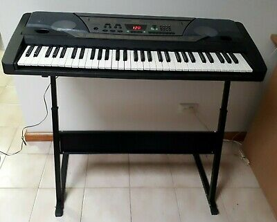 61 key electronic keyboard base TAKB04 with power adaptor/instructions/stand