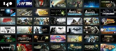 Steam Account 469 Games $7,153No Bans 12 Years Old Level 17