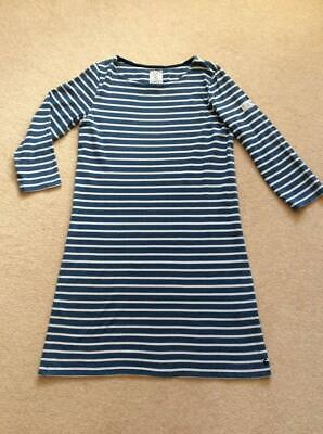 bd899adc9f9 BNWT JOULES WOMENS Riviera Striped 3/4 Sleeve T-shirt Dress Navy/Red ...