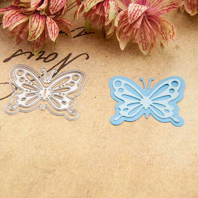 butterfly Metal Cutting Dies Stencil Scrapbooking Paper Card Embossing Craft Cw
