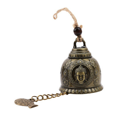 Vintage Feng Shui Bell Good Luck Fortune Hanging Wind Chime Bell Decor Hot QP