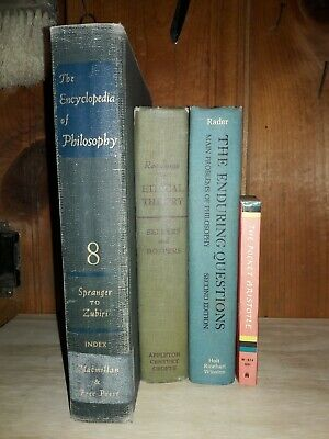 Lot of 4 Antique & Vintage Philosophy Aristotle 1960s Text Books Instant Library