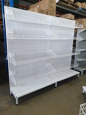 Single sided gondola shelving grocery store $2 shop great condition CHEAP