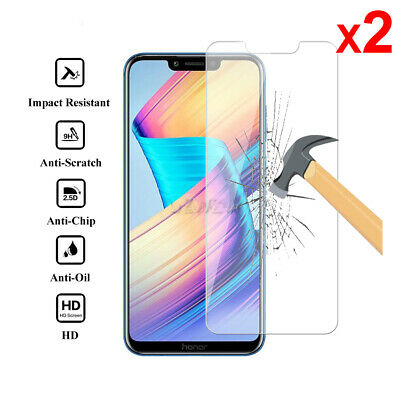 Screen Protector Tempered Glass Film For Huawei P Smart Mate 10 P20 Lite Pro Y1