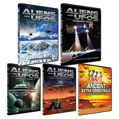 Aliens and UFOs - Complete Series! Awesome Deluxe Ancient Aliens themed DVD Set!