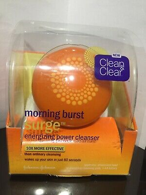 Clean & Clear Morning Burst Surge Energizing Power Cleanser Kit  Rare!