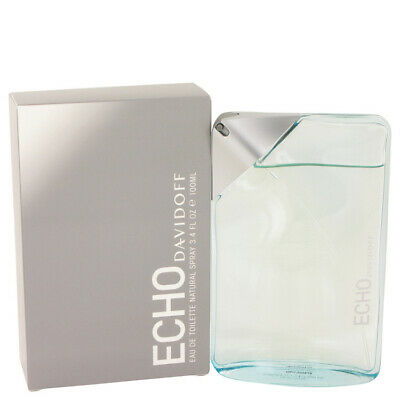 Davidoff Echo For Men  Eau Toilette 100 Ml - 3.4 Fl Oz Vaporizador Spray