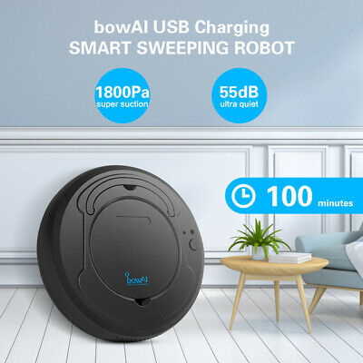 1800Pa Smart Sweeping Robot USB Charging Lazy Tools Intelligent Sweeper LowNoise