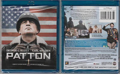 PATTON - Two Disc Set (Bluray) George C. Scott, Karl Malden (NEW)