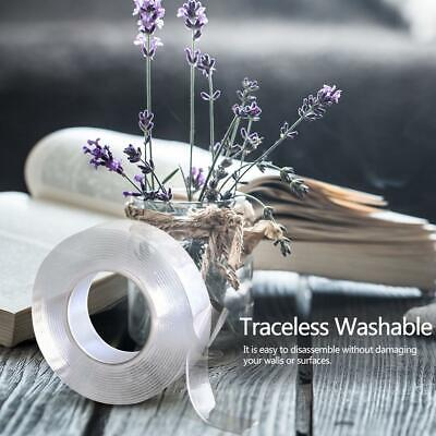 Reusable Multifunctional Home Double-Sided Nano-Traceless Washable Adhesive Tape