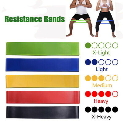 Resistance Bands Rubber Band Workout Fitness Equipment Yoga Training Bands