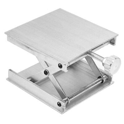 Silver Aluminum alloy Lab-Lift Lifting Platform Stand Rack Scissor Jack Rack New
