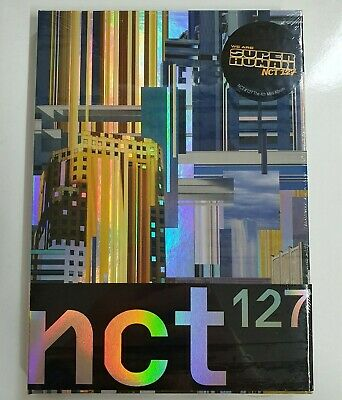NCT 127 - NCT #127 We Are Superhuman CD+Photocard+Circle Card+2 Posters NEW
