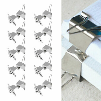 10 Pcs Wet Canvas Seperation Clip Carriers Holds Apart For Oil Painting Protect