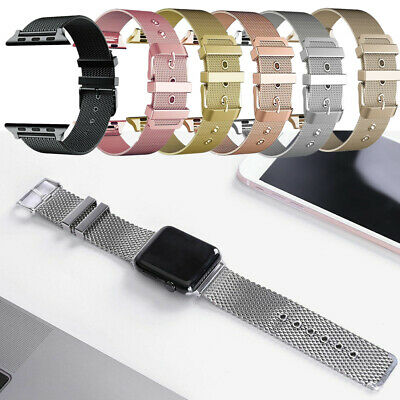Milanese Loop Strap for Apple Watch Band 38/40mm42/44mm Stainless Steel Bracelet