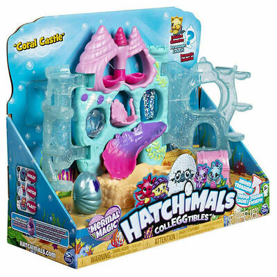 Hatchimals Colleggtibles Coral Castle   fast  one day delivery service