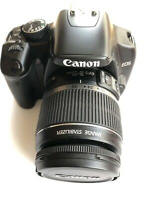 CANON EOS 450D - 12.2MP DIGITAL SLR CAMERA WITH EFS 18-55mm LENS